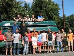 Kanutour der Jugend 2007