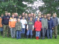 Jugendangeln in Alstätte 2008