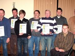 Mitgliederehrungen 2009