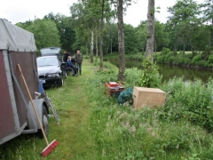 Elektrobefischung Löschteich am 01.06.2012